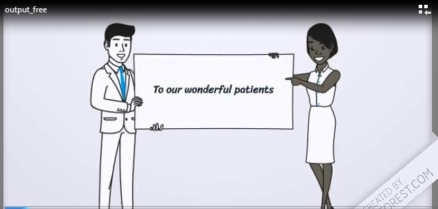 A message to our lovely patients from Dr Samah…